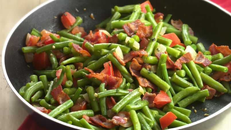 Beans & Tomato - Beans Curry